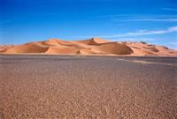 Sand dunes in desert,Wan Kaza desert