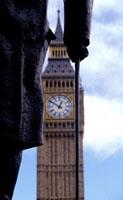 Winston Churchill statue and  Big Ben