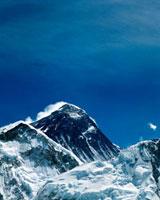 Mount Everest in Sagarmantha National Park