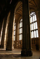 The interior of Canterbury Cathedral