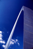 Gateway Arch,close up
