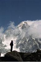 Aiguille Du Chardonnet French Alps