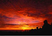 Haleakala National Park At Sunrise Maui