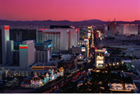 Cityscape at Dusk Las Vegas