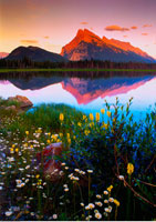 Mount Rundle and Vermilion Lakes Banff National Park