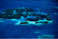 The Rock Islands of Palau Republic of Palau
