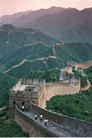 Overview of The Great Wall of China and Landscape