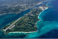 Aerial View of Paradise Island Bahamas