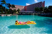 Woman in Swimming Pool Atlantis