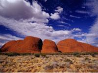 The Olgas Uluru National Park Australia