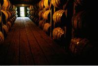 Bourbon Aging Barrels Frankfort