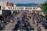 Harley Davidson Rally Sturgis