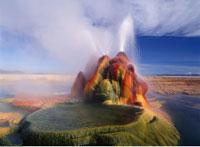 Geyser Black Rock Desert