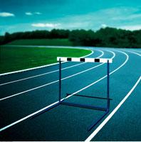Hurdle on Track