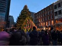 Christmas Choir in City