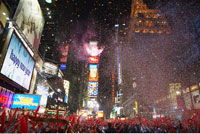 New Year's in Times Square New York
