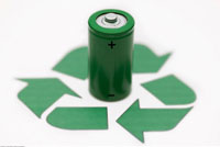 Battery and Recycle Symbol