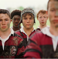 Portrait of Rugby Players