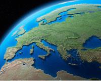 Globe Showing Europe   20025159729  写真素材・ストックフォト・画像・イラスト素材 アマナイメージズ