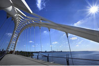 View of Toronto From Humber Bridge