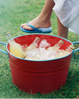 Bucket of Chilled Beverages