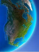Globe Showing North America   20025181723  写真素材・ストックフォト・画像・イラスト素材 アマナイメージズ