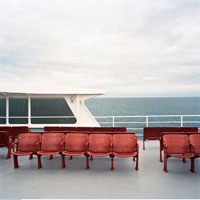 Seats on Ferry
