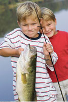 Two Brothers With A Big Fish