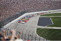 Nascar Race at Texas Motor Speedway