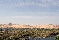 Nile River and Green Valley