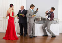 People at Wedding Reception