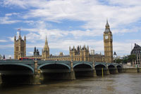 House of Parliament and London Bridge