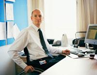 Portrait of Businessman In Wheelchair  20025195590| 写真素材・ストックフォト・画像・イラスト素材|アマナイメージズ
