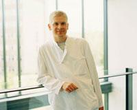 Portrait of Man in Lab Coat