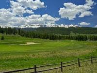 Golf Course Near Breckenridge