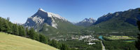 Overview of Town of Banff