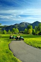 Golf Carts 20025203271| 写真素材・ストックフォト・画像・イラスト素材|アマナイメージズ