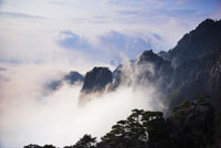 Fog Over Mount Huangshan