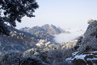 Mount Huangshan in Winter