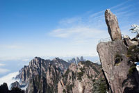 Lookout on Mount Huangshan