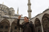 Man at Blue Mosque