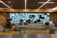 Metro Control Room, Madrid, Spain