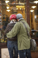 Couple Looking into Store Window