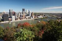 Bridges Over River,Pittsburgh, Pennsylvania, USA