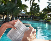 Reading Pool Side