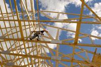Construction Worker BuildingHouse