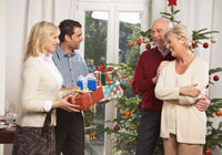 Family Giving Gifts