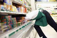 Clerk in Grocery Store