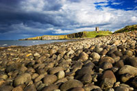 Rocky Beach and DunstanburghCastle
