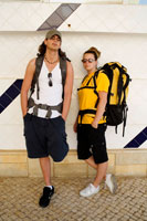 Portrait of Backpackers